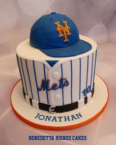 Let's Go Mets Cake - Cake by Benni Rienzo Radic
