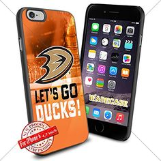 Anaheim Ducks Logo WADE7367 NHL iPhone 6 4.7 inch Case Protection Black Rubber Cover Protector WADE CASE http://www.amazon.com/dp/B015AI300S/ref=cm_sw_r_pi_dp_.wHnwb1J08NZA