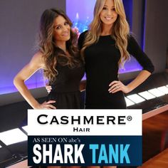 Cashmere hair before and after reviews amazing hair extensions the best cashmere hair clip in extensions as seen on abcs shark tank http pmusecretfo Images