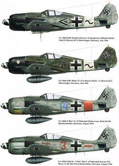 Ww2 Aircraft, Fighter Aircraft, Military Aircraft, Fighter Jets, Luftwaffe, Focke Wulf 190, Aircraft Painting, Ww2 Planes, Aircraft Design