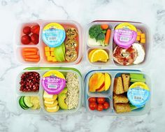 Looking for lunch box ideas as your little ones go #backtoschool? Here are some great @easylunchboxes ideas!