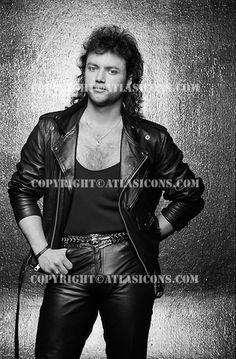 QUEENSRYCHE, STUDIO, 1987, NEIL ZLOZOWER Geoff Tate, Cover Band, Studio, Heavy Metal, Rock And Roll, Leather Pants, Punk, Photo Credit, Sexy