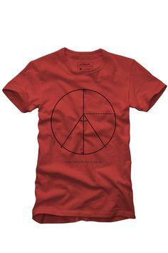 6386c977b9f T-SHIRT PAZ E AMOR EXATOS T Shirt