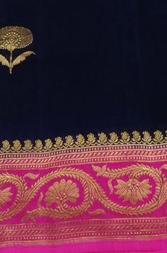 Blue Handloom Banarasi Pure Chiffon Georgette Saree #banarasisaree# Lace Saree, Organza Saree, Tussar Silk Saree, Saree Dress, Georgette Sarees, Sari Blouse, Kurti, Katan Saree, Sarees Online India