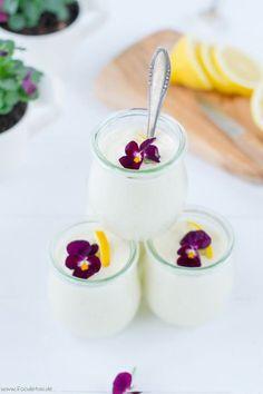 Luftig lockeres Dessert mit Zitrone und Joghurt