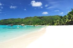 Beaches in the Seychelles