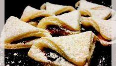 Cornulete fragede cu gem de prune Food Cakes, Apple Pie, Cake Recipes, French Toast, Cookies, Breakfast, Sweet, Ethnic Recipes, Desserts
