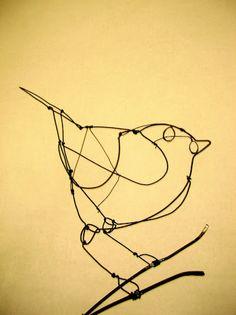 Michael's Wire Bird