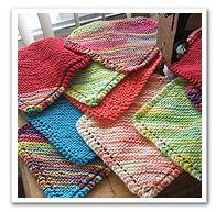 Grandmother's Favorite  traditional dishcloth design