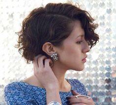 Encantador y lindo rizado Cortes de pelo corto // #Cortes #corto #Encantador #lindo #pelo #rizado