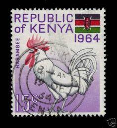 Kenya 15c 1964