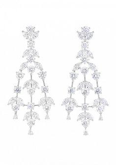Orecchini di diamanti Chopard