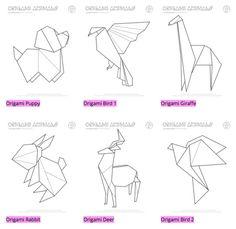 Mr Printables origami animals