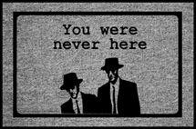 You Were Never Here Door Mat|International Spy Museum Store