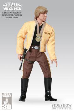 Sixth Scale Figure - Luke Skywalker - Rebel Hero: Yavin IV (30th Anniversary Exclusive) #2141