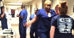 This Nurse Screamed At The Sight Of Her Patient In The Hall — Here's Why