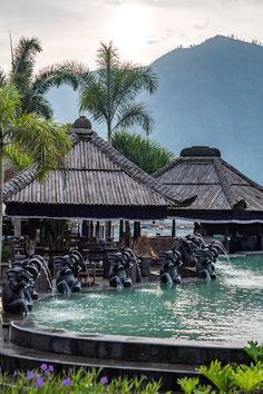 #Bali hot spring at Danau Batur. Bali, Indonesia, Wanderlust, Bucket List, Island, Paradise, Bali, Travel, Exotic Places, temple, places to visit in Bali.