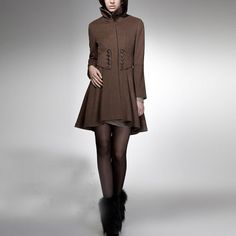 winter+coat+BROWN+coat+cashmere+coat+wool+coat+winter+by+RenzRags,+$128.00 not te shoes coat?! Lol ;)