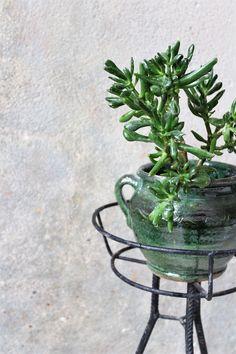 Kwietnik PRL. Klasyk! #vintage #vintageplanter #pottery
