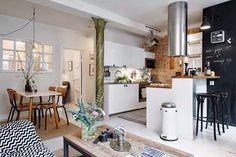 salon cocina americana - Google Search