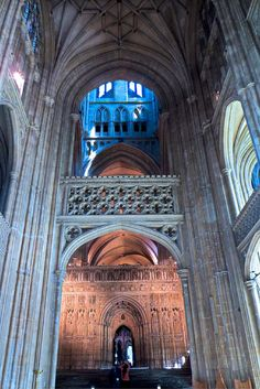 Canterbury Cathedral, click for more images of this incredible cathedral #canterburycathedral #england #travel