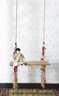 Bohemian large swing seat // les petits bohèmes - love!