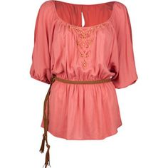 Designer Clothes, Shoes & Bags for Women Pretty Shirts, Peasant Tops, Peasant Blouse, Boho Look, Dress To Impress, Cool Outfits, Dress Up, My Style, Style Box