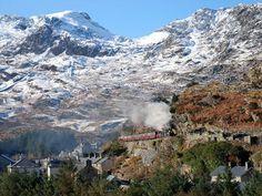 Ffestiniog Railway, Wales, UK. www.secretearth.com/attractions/775-ffestiniog-and-welsh-highland-railways