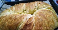 Η πιο εύκολη στριφτή τυρόπιτα, ακόμη και για αρχάριους...η νοστιμιά της δε λέγεται!!!  Οι φωτογραφίες είναι με το κινητό μου και την αδ... Cabbage, Pork, Bread, Vegetables, Cooking, Breakfast, Recipes, Kale Stir Fry, Kitchen