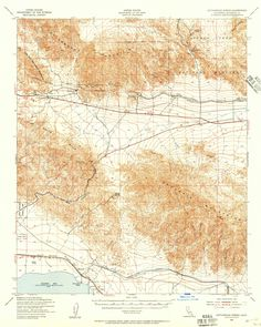 Salton Sea Projects Map Salton Trough history scenery and