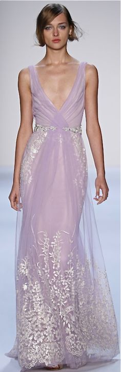 Badgley Mischka RTW Spring 2014