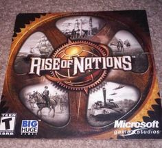 RISE OF NATIONS PC VIDEO GAME! LOW SHIPPING! LQQK!