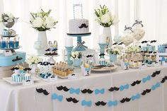 We Share IdeasFesta Mustache Lil Man Baby Shower, Little Man Babyshower, Little Man Birthday Party Ideas, Little Man Party, Birthday Themes For Adults, 1st Birthday Party Themes, Baby Shower Gender Reveal, Baby Shower Themes, Mustache Theme