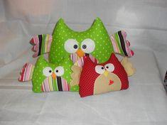 Owl Softie Free Sewing Pattern