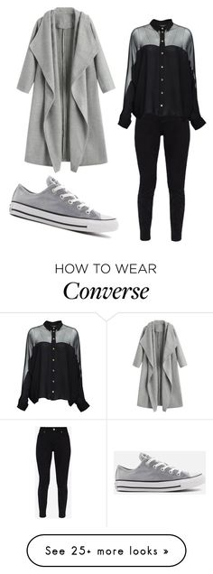 """""""Cold in the air"""" by swinxrose on Polyvore featuring Converse, Ted Baker and Gucci"""