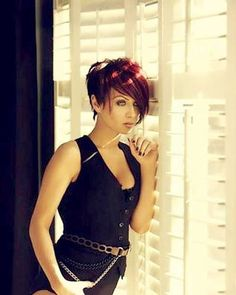 Source  6- Red Hair with Long Pixie