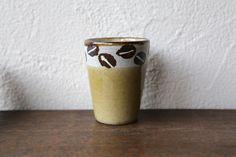 工房十鶴・コーヒー豆柄のフリーカップ