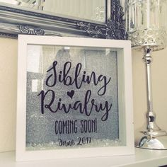 Sibling Rivalry Frame