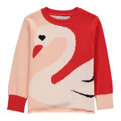 Pull Coton Bio Cygne Lucky-product