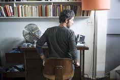 masculine workspace in NYC (via Jean-Marc Houmard — Freunde von Freunden)