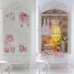 25 Ideas For Bedroom Shabby Chic Girls Girly Funky Furniture, Home Decor Furniture, Shabby Chic Furniture, Shabby Chic Bedrooms, Trendy Bedroom, Vintage Shabby Chic, Shabby Chic Decor, Kids Room Design, Dream Decor
