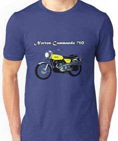 Norton Commando 750 Unisex T-Shirt