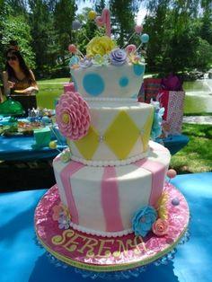 "Serena's ""One""derland Birthday By chcrca on CakeCentral.com"