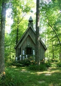 313.....Mentone Alabama wedding chapel on Lookout Mountain Alabama