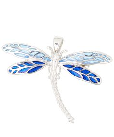 Kojis Silver Dragonfly Brooch | Accessories | Liberty.co.uk