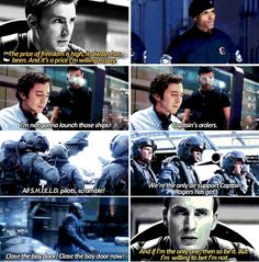 Captain America wasn't the only one willing to pay the price of freedom. The unsung heroes of SHIELD from Captain America: The Winter Solider.