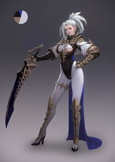 The Art Of Animation, Kim Han seul -. Fantasy Girl, Chica Fantasy, Fantasy Female Warrior, 3d Fantasy, Warrior Girl, Fantasy Armor, Fantasy Women, Anime Fantasy, Female Art