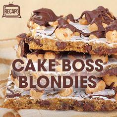 Rachael Ray & Cake Boss: Buddy Valastro Red Carpet Blondies Recipe
