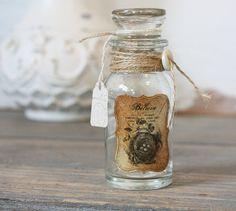 Re-purposed Vintage Bottle