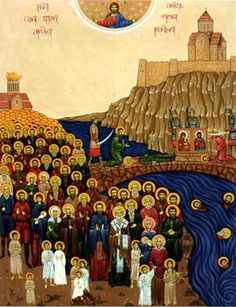 100000 martyrs of Tblisi (Georgia)